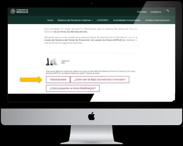 Presentar Aviso de Actividad Vulnerable Agentes Inmobiliarios